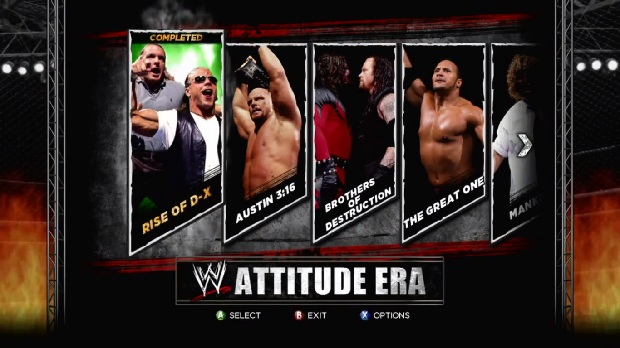 WWE 13 attitude era