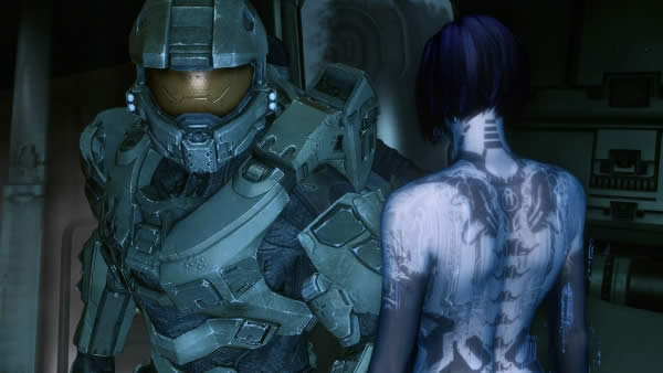 halo 4 cortana master chief