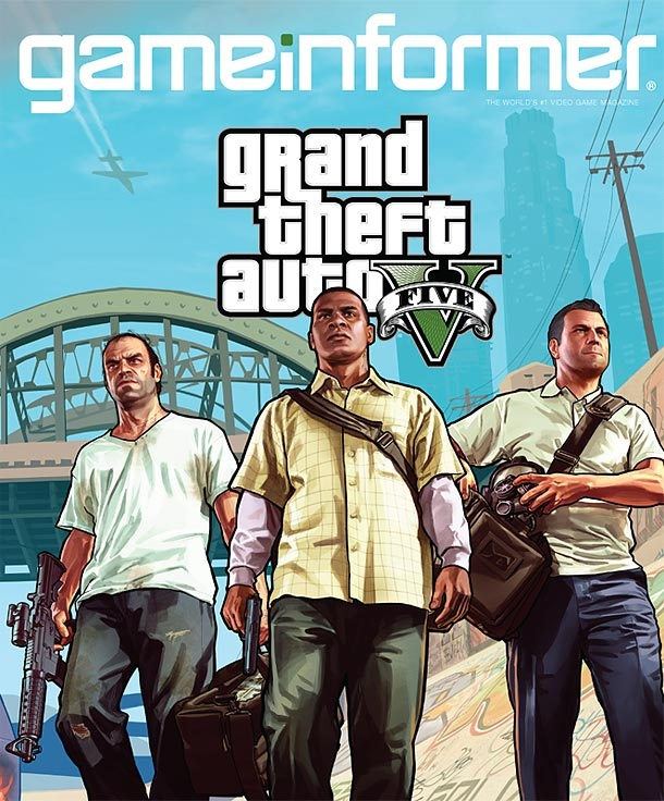 GTA 5 gameinformer