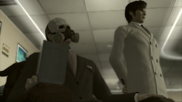 Deadly Premonition - Harry Stewart and assistant