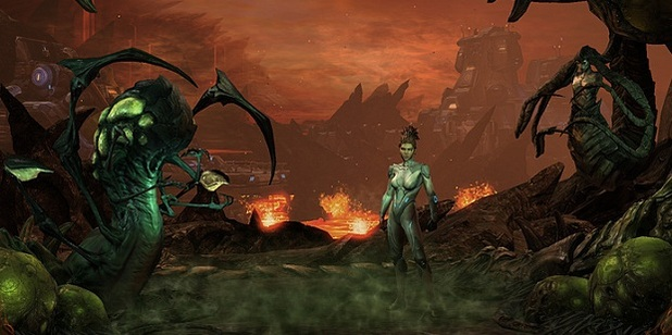 StarCraft II: Heart of the Swarm Screenshot - 1127722