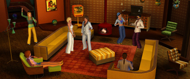 The Sims 3 70s, 80s, & 90s Stuff Pack - Feature