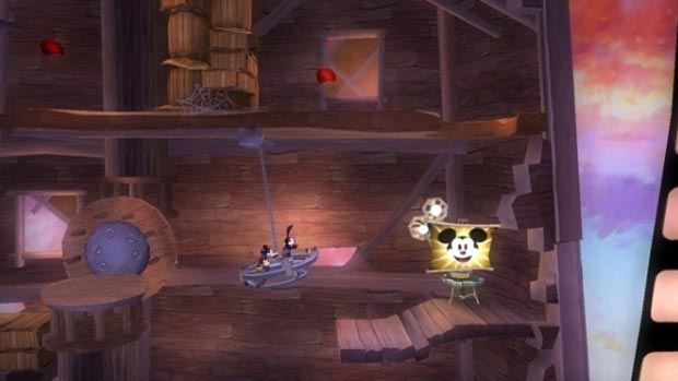 sidescrolling epic mickey 2