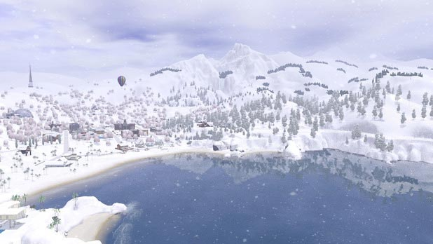 Sims 3 Snow