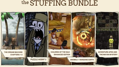 Puzzle Agent 2 Screenshot - Stuffing Bundle Indie Royale