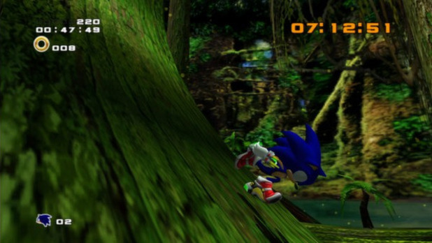 Sonic Adventure 2 HD Screenshot - Sonic Adventure 2