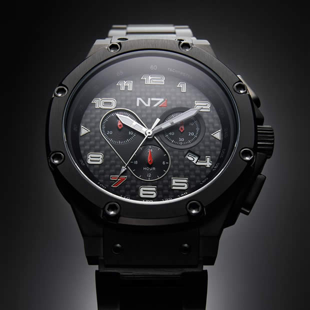 N7 Mass Effect watch