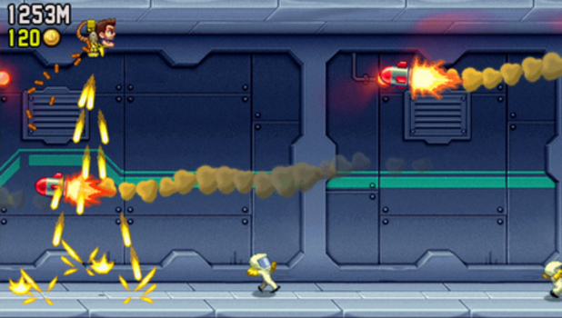 Jetpack Joyride - Feature