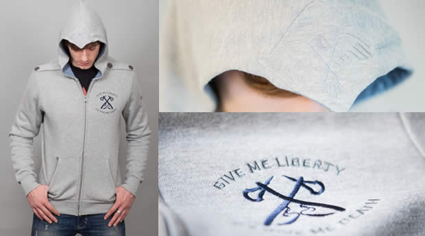 assassin's creed 3 hoodie