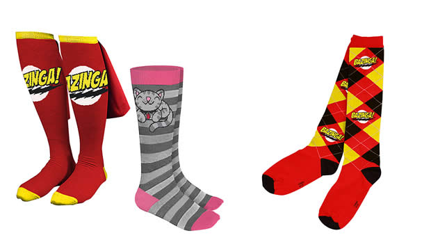 big bang theory socks