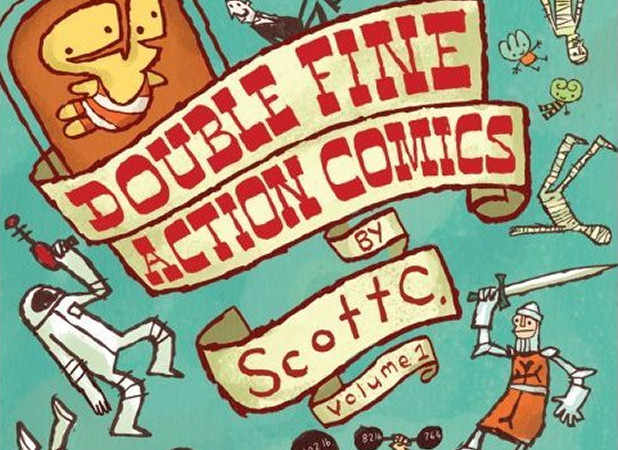 Double Fine Action Comics Vol. 1