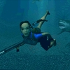 Tomb Raider Screenshot - Tomb Raider swimming