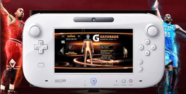nba 2k13 wii u gamepad