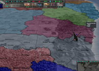 East vs West: A Hearts of Iron Game Image