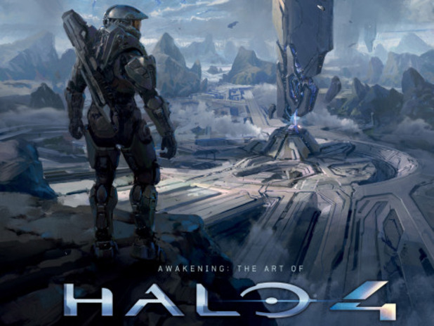 Halo 4 art book cover partial