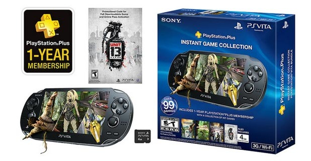 PS Plus Instant Game Collection PS Vita bundle