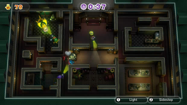 luigis ghost mansion
