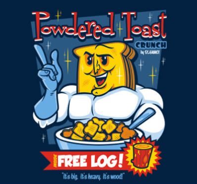 powdered toast crunch, theyetee.com