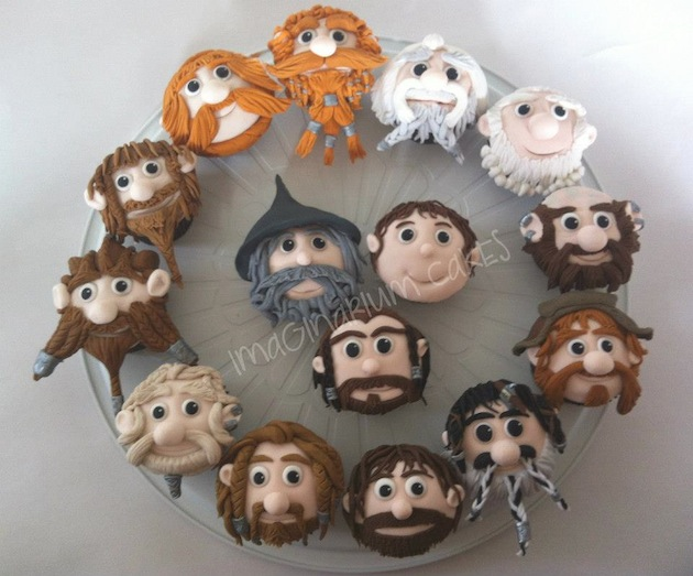 Hobbit Cup Cakes