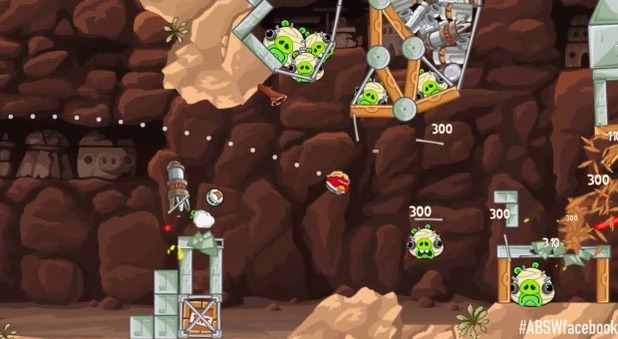 Angry Birds Star Wars Screenshot - 1131360