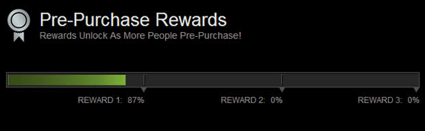 Steam Tomb Raider Pre-Purchase rewards