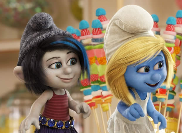TV & Movie News Screenshot - smurfs 2