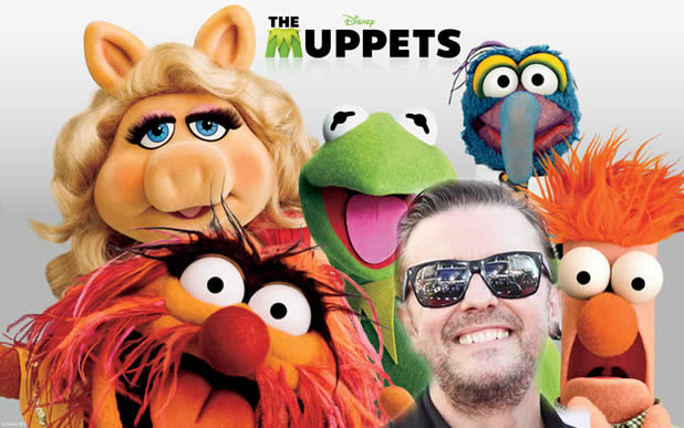Movie News Screenshot - the muppets 2 ricky gervais