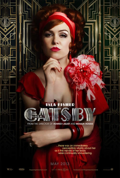 The Great Gatsby (2013) Screenshot - the great gatsby isla fisher poster