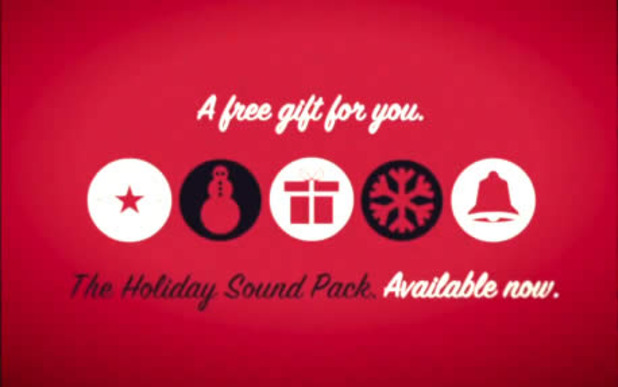 holiday sound shapes