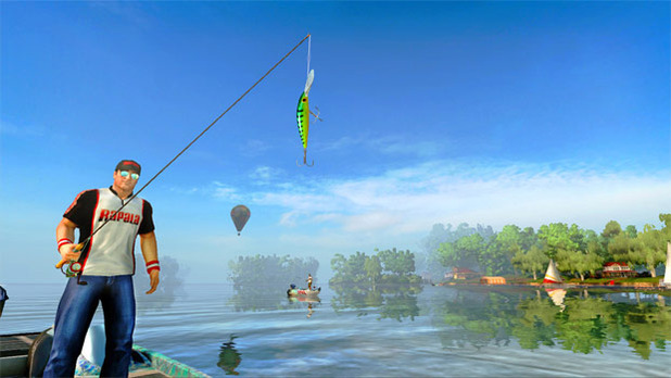 Review rapala pro bass fishing is a decent yet gimmicky for Wii u fishing game