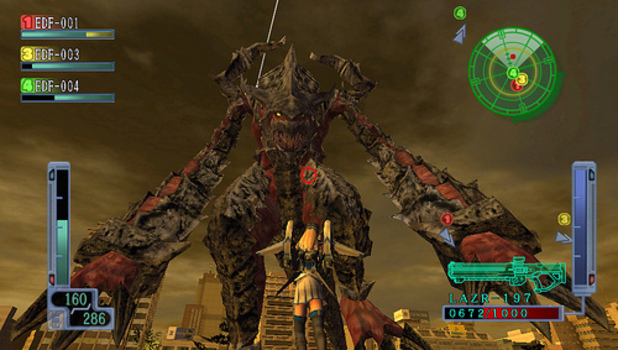 Earth Defense Force 2017 Portable Screenshot - Earth Defense Force 2017 Portable