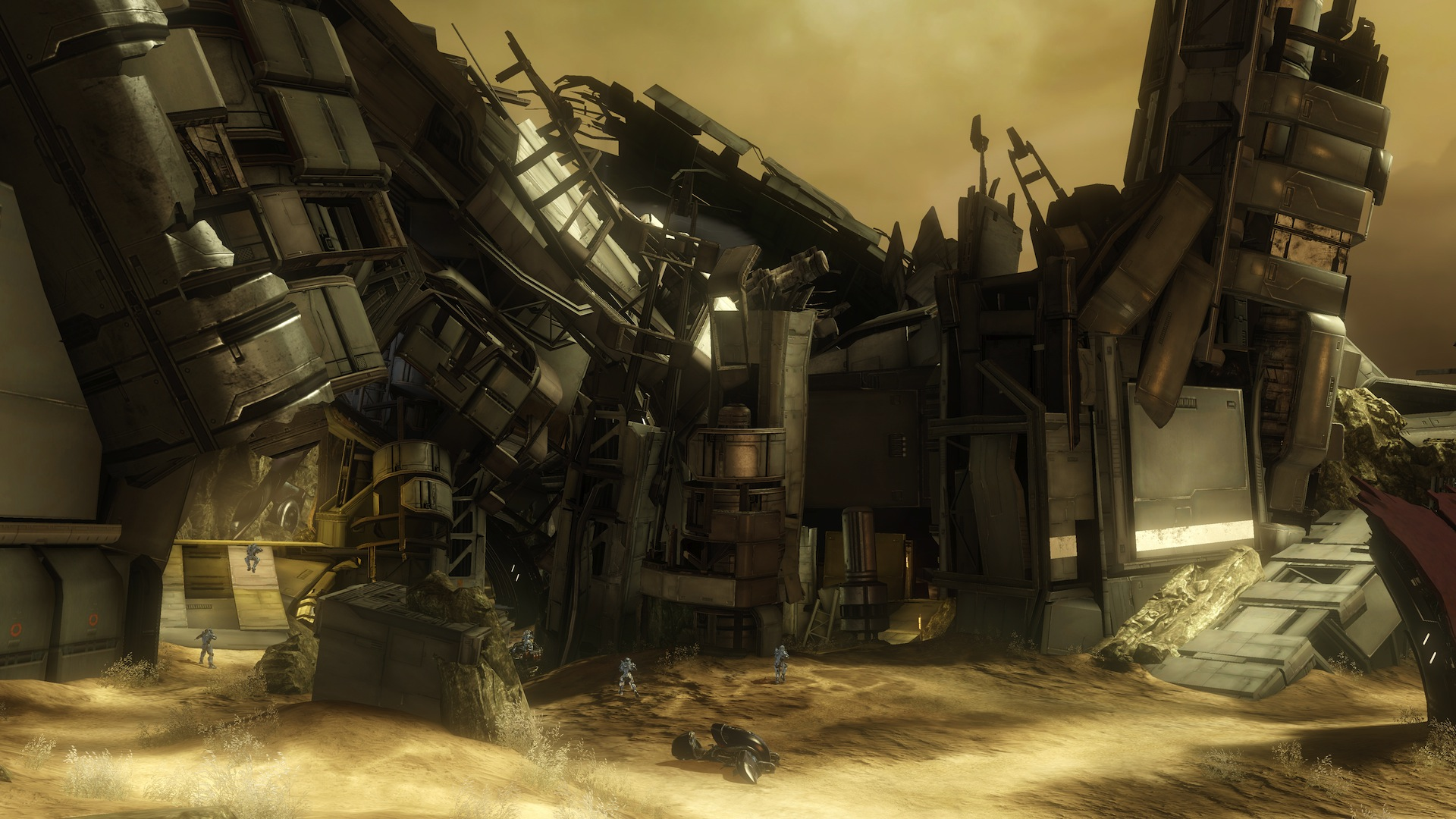 Halo 4 Wreckage screenshot