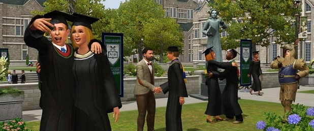 The Sims 3 University Life - Feature