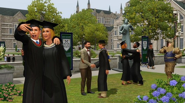 The Sims 3 University Life Screenshot - 1132979