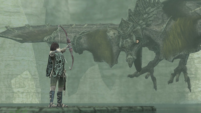 ICO and Shadow of the Colossus Collection Screenshot - Shadow of the Colossus