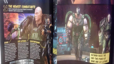 Injustice Lex Luthor and Bane