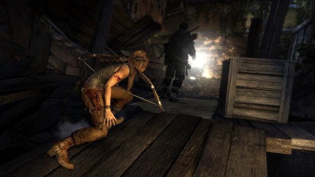 Tomb Raider sneak