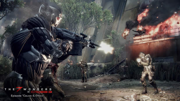 Crysis 3 Screenshot - crysis 3 cause and effect