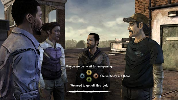 The Walking Dead decisions