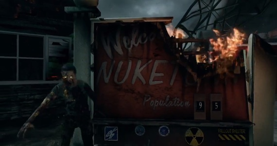 Call Of Duty: Black Ops 2 Nuketown Zombies Map Released ...