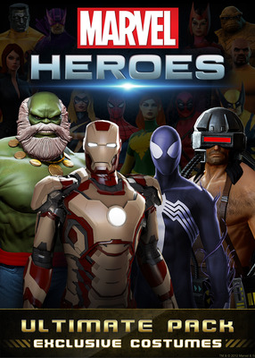 Marvel Heroes Packshot - 1133490