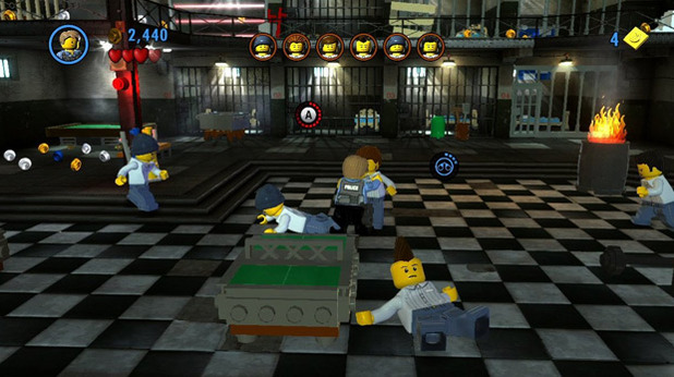 LEGO City Undercover - Brawl in the Prison