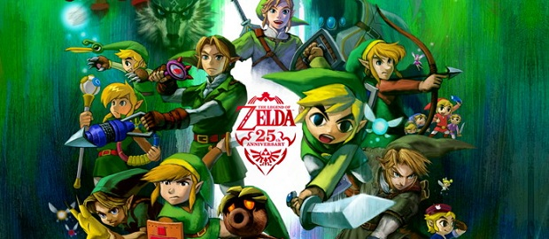 Zelda 25th anniversary
