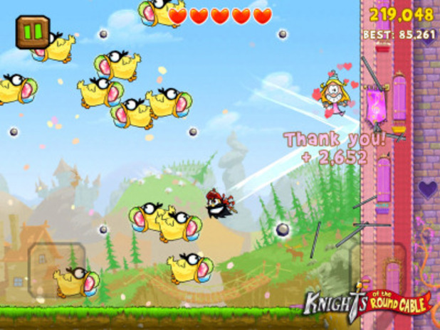 Knights of the Round Cable Screenshot - Super Knights