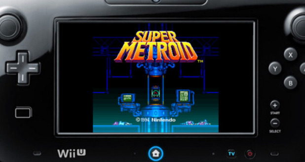 Super Metroid Wii U