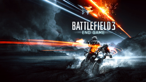 Battlefield 3: End Game Logo - 1136063