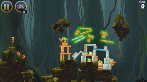 Angry Birds Star Wars - Escape from Hoth