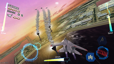 After Burner Climax Screenshot - After Burner Climax iOS
