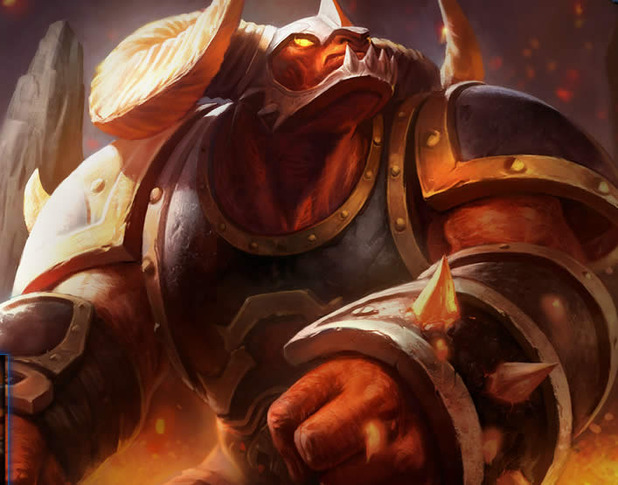 The gallery for --> Infernal Alistar