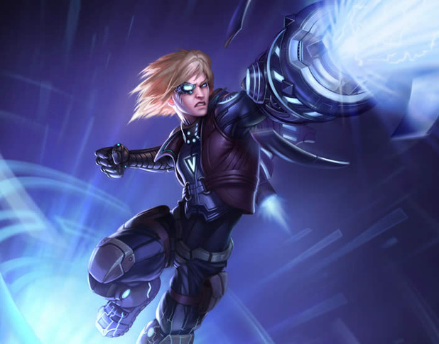 League of Legends Screenshot - pulsefire ezreal